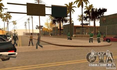Autumn Mod v3.5Lite para GTA San Andreas segunda tela