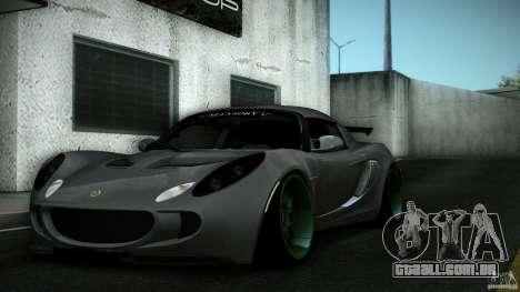 Lotus Exige Track Car para o motor de GTA San Andreas