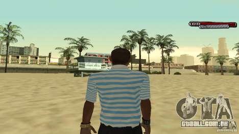 New Latinos para GTA San Andreas por diante tela