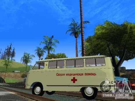 RAPH-977IM emergência para GTA San Andreas esquerda vista
