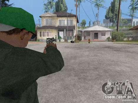 Desert Eagle para GTA San Andreas por diante tela