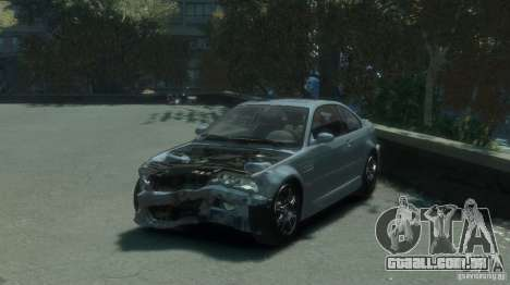 BMW M3 E46 para GTA 4 vista lateral