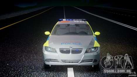 BMW 350i Indonesian Police Car [ELS] para GTA 4 interior