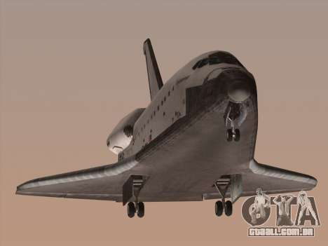 Space Shuttle para GTA San Andreas