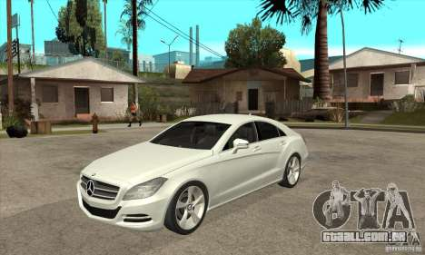 Mercedes-Benz CLS 350 2011 para GTA San Andreas