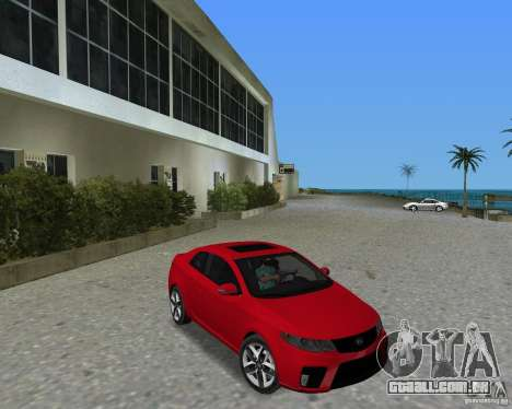 Kia Forte Coupe para GTA Vice City