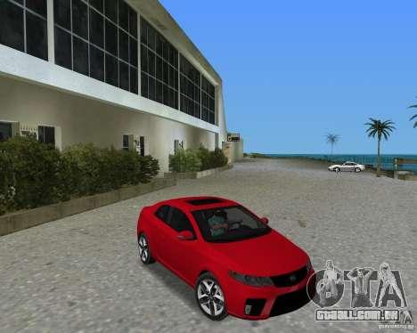 Kia Forte Coupe para GTA Vice City