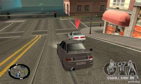 Corrida de rua para GTA San Andreas segunda tela