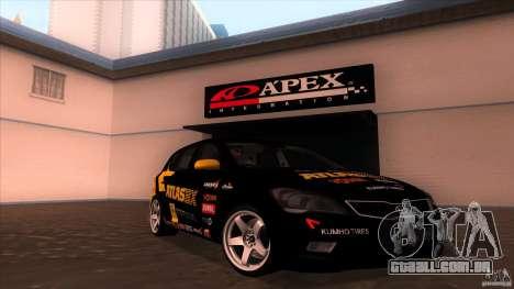 Kia Ceed 2011 para GTA San Andreas vista traseira