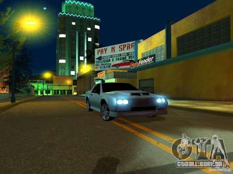 New Buffalo para GTA San Andreas traseira esquerda vista