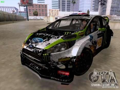 Ken Block Ford Fiesta 2012 para GTA San Andreas