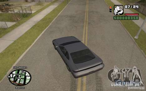 Nomes de ruas no radar para GTA San Andreas terceira tela