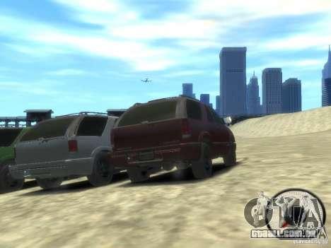 Chevrolet Blazer LS 2dr 4x4 para GTA 4 vista de volta