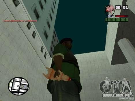 Black Weapon by ForT para GTA San Andreas sexta tela