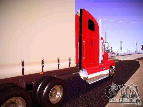 Freightliner FLD 120 para GTA San Andreas vista direita