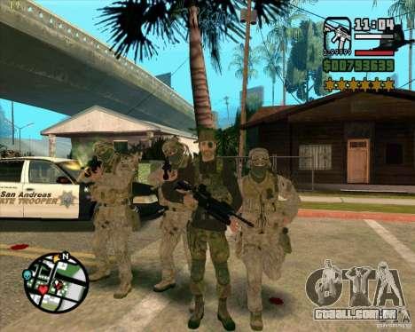 Praice pele de COD 4 para GTA San Andreas