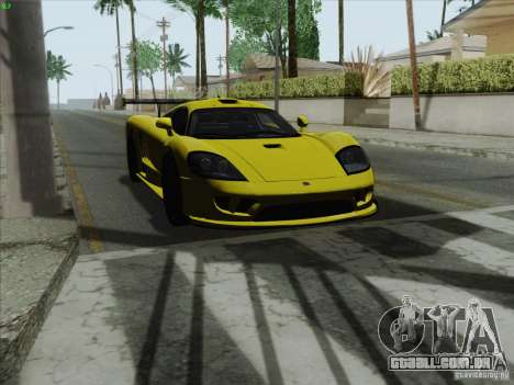 Saleen S7 Twin Turbo Competition Custom para GTA San Andreas vista direita