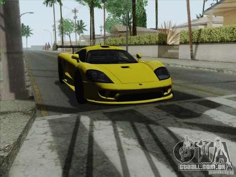 Saleen S7 Twin Turbo Competition Custom para GTA San Andreas vista direita