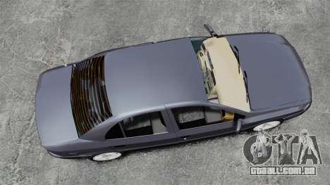 Iran Khodro Samand LX para GTA 4 vista direita