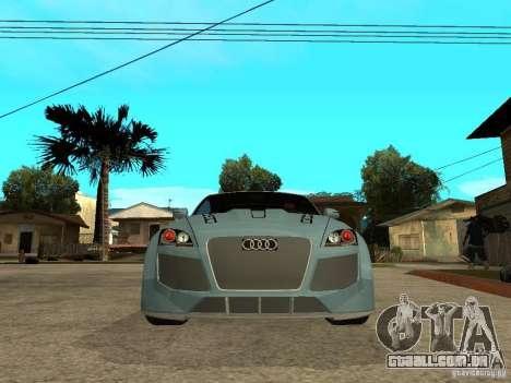 Audi TT 2007 Tuned para GTA San Andreas vista direita