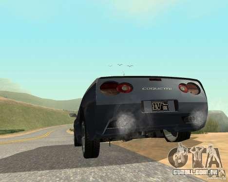 Soquette do GTA 4 para GTA San Andreas traseira esquerda vista