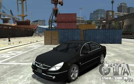 Peugeot 607 Sedan 2007 para GTA 4