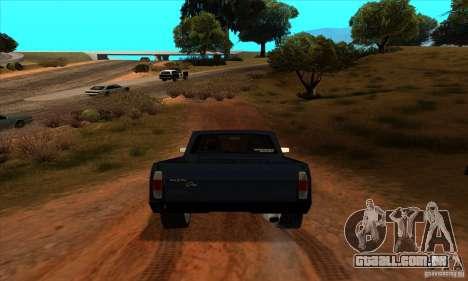 Ford Pampa Ghia 1.8 Turbo para GTA San Andreas vista traseira