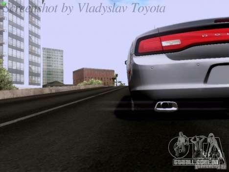 Dodge Charger 2013 para GTA San Andreas vista superior