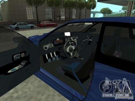 Subaru Impreza 22B STI para GTA San Andreas traseira esquerda vista