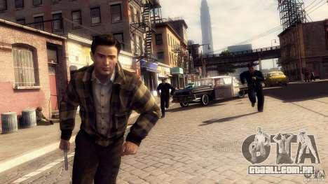 Imagens de inicialização no estilo de uma Mafia  para GTA San Andreas quinto tela