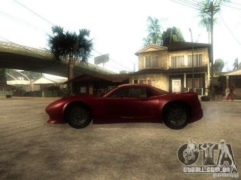 Axis Pegasus para GTA San Andreas esquerda vista
