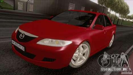 Mazda 6 2006 para GTA San Andreas vista direita