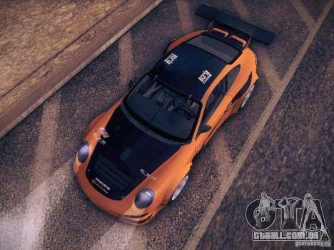 Porsche 997 GT3 RSR para vista lateral GTA San Andreas