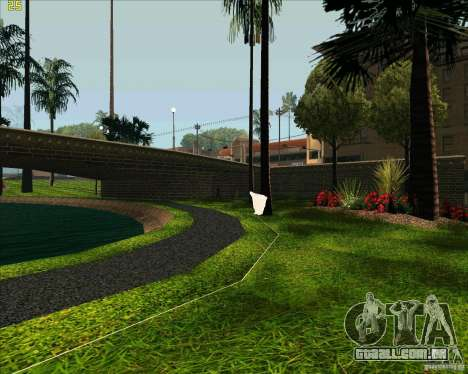 O novo parque em Los Santos para GTA San Andreas quinto tela