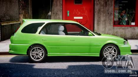 Toyota Sprinter Carib BZ-Touring 1999 [Beta] para GTA 4 vista inferior