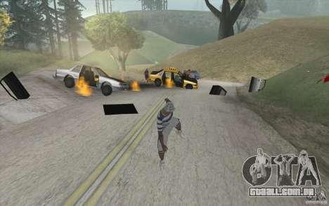 Onda de fogo para GTA San Andreas segunda tela