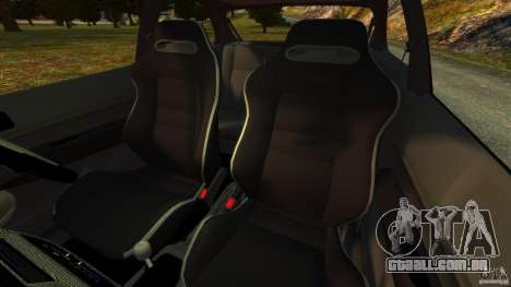 Honda Civic Type R (EK9) para GTA 4 vista interior