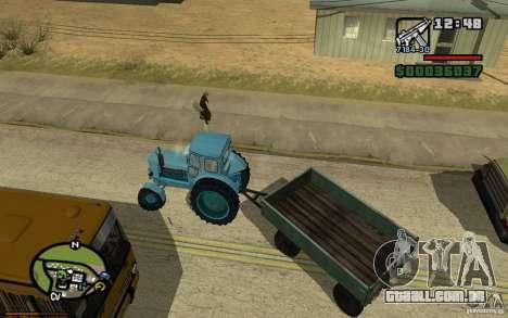 Painel ativo 3.1 para GTA San Andreas quinto tela