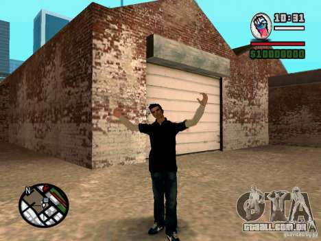 Slaude FXstyle para GTA San Andreas terceira tela