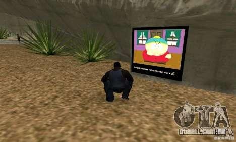 South Park Grafitti Mod para GTA San Andreas terceira tela