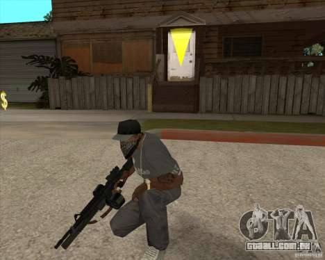 M4 Drum Magazine para GTA San Andreas