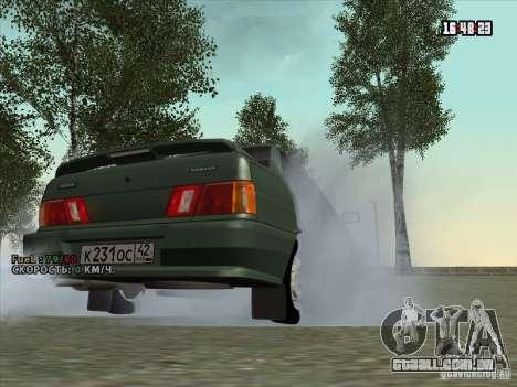 VAZ 2115 dreno para GTA San Andreas vista direita