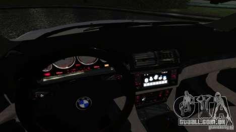 BMW M5 E39 BBC v1.0 para GTA 4 motor