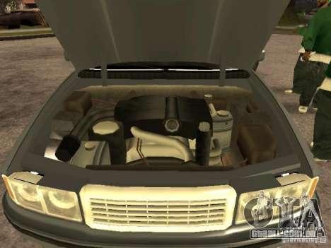 HD Sentinel para GTA San Andreas vista direita