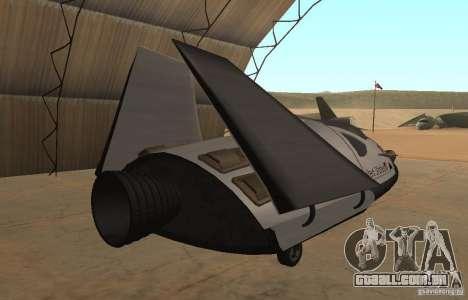 Módulo de FARSCAPE para GTA San Andreas esquerda vista