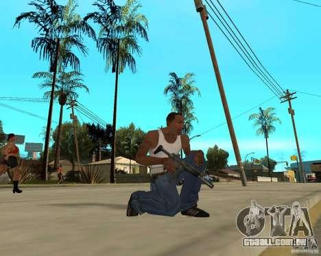 Armas de STALKERa para GTA San Andreas por diante tela