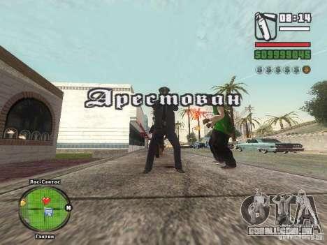 Piss Piss mod para GTA San Andreas terceira tela