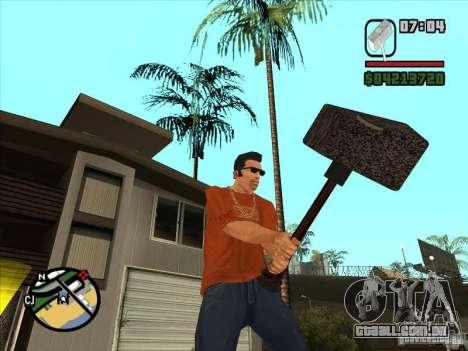 Martelo do WarCraft III para GTA San Andreas
