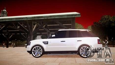 Range Rover Sport Supercharged v1.0 2010 para GTA 4 esquerda vista