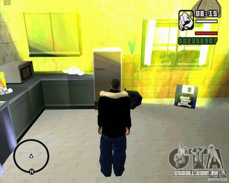 Faz um lixo para GTA San Andreas segunda tela